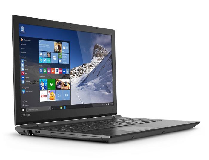 Review Toshiba Satellite C55-C5241 15.6 Inch Laptop Isometric View