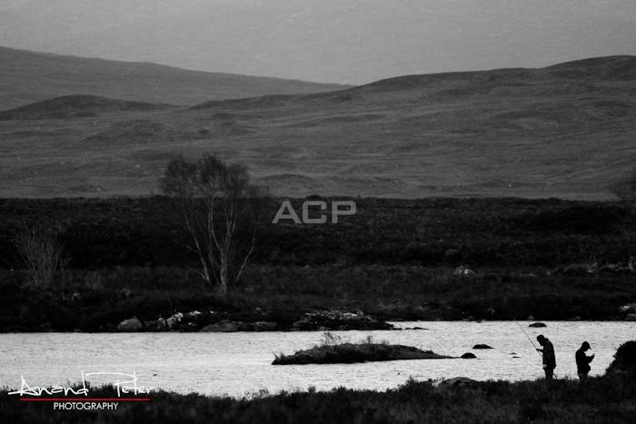 The Scottish Highlands - Fishermen